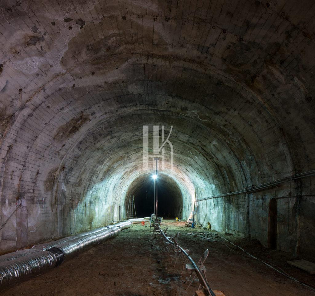 Down Into The Pacific Electric Subway Terminal (LA's