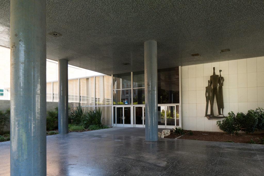 Parker Center Entrance
