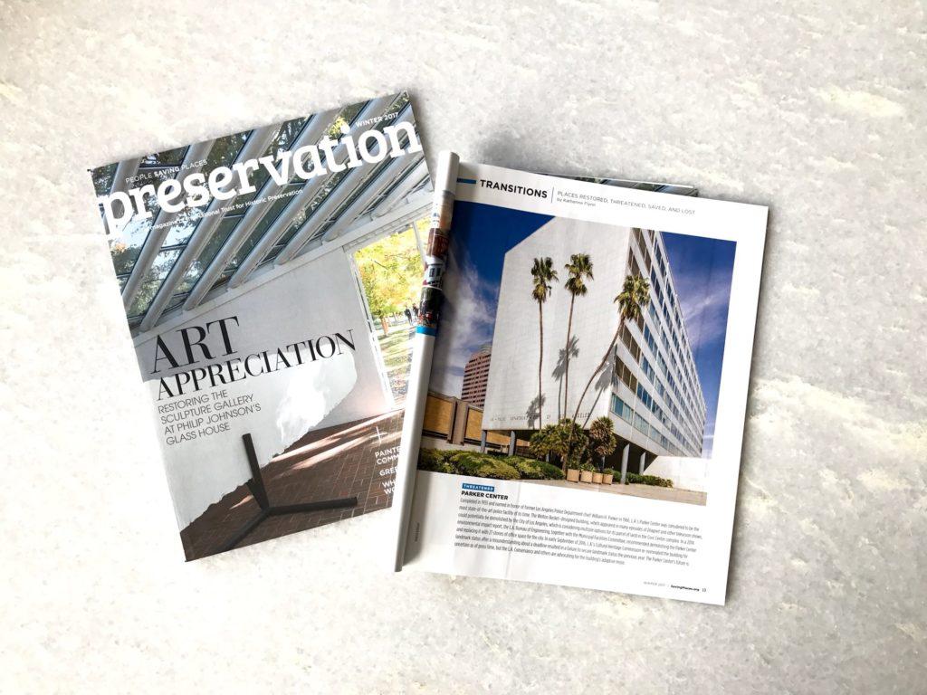 Preservation Magazine Winter 2017