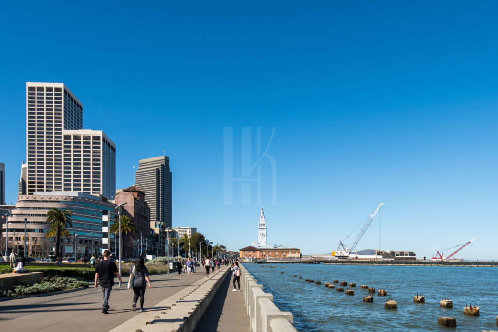 San Francisco Ferry Terminal Expansion Architectural Photographer Hunter Kerhart