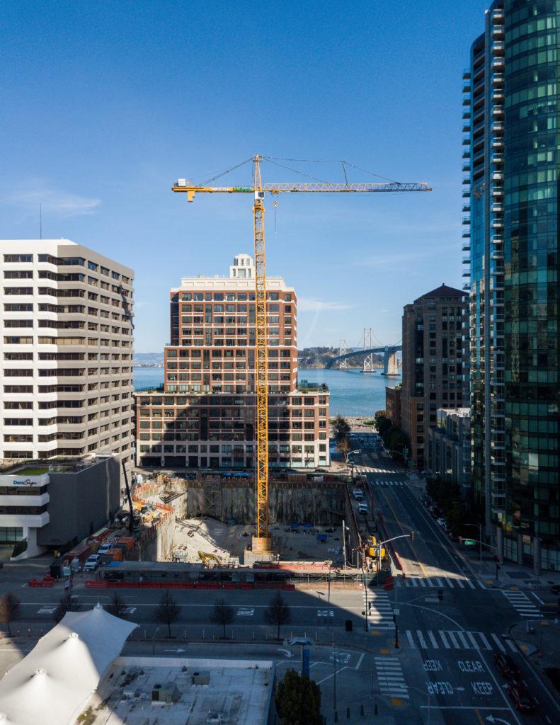 Folsom Bay Tower San Francisco Architectural Photographer Hunter Kerhart