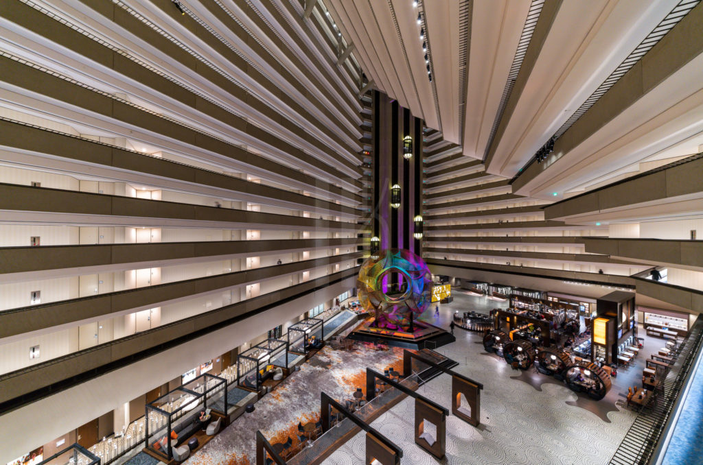 Hyatt Regency San Francisco Architectural Photographer Hunter Kerhart