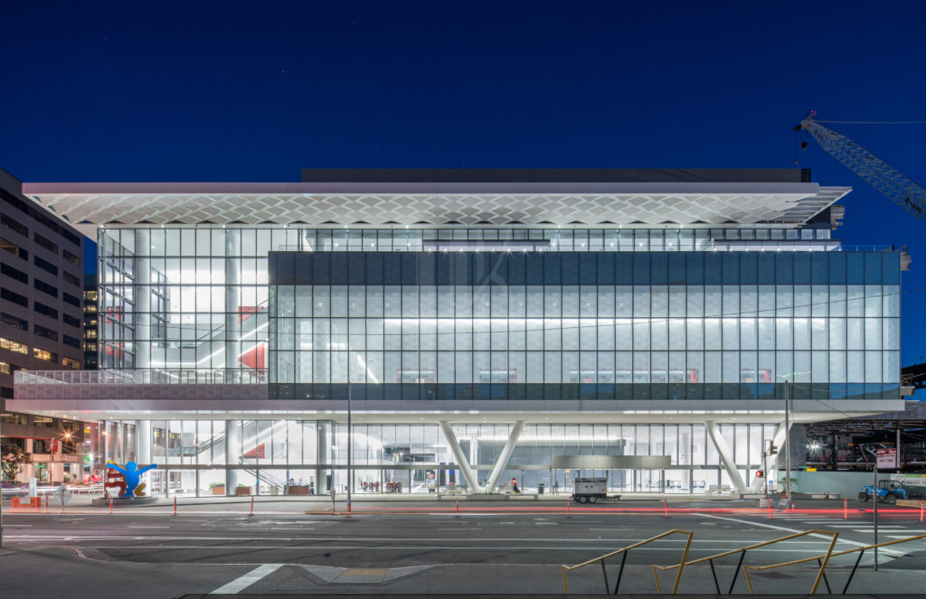 Moscone Center Expansion San Francisco Architectural Photographer Hunter Kerhart
