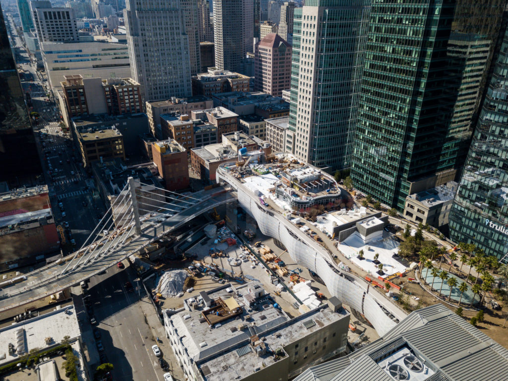 Salesforce Park Construction San Francisco Architectural Photographer Hunter Kerhart