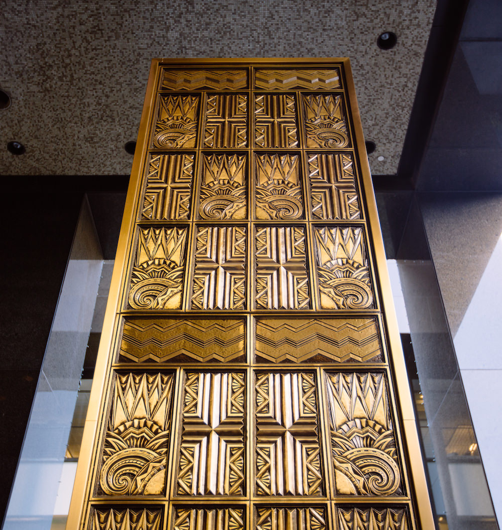 Richfield Oil Building Doors