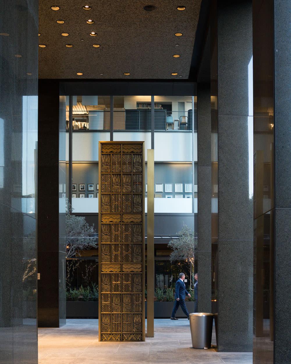 Richfield Oil Building Doors