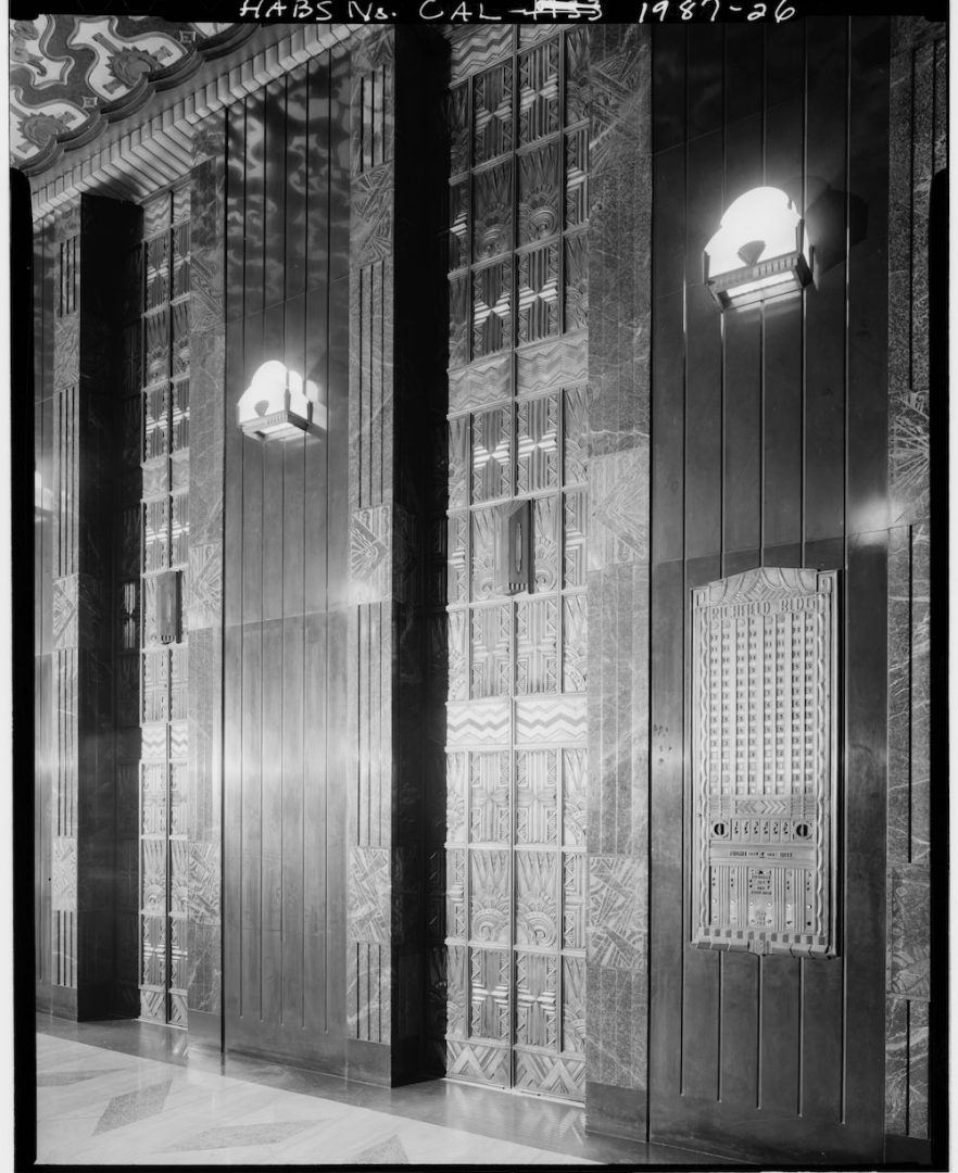Richfield Oil Elevator Doors