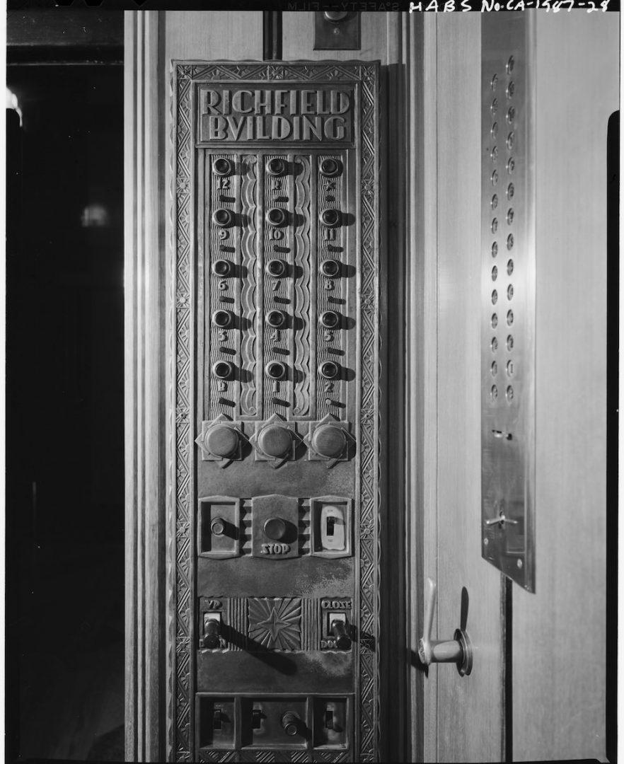 Richfield Oil Elevator Interior