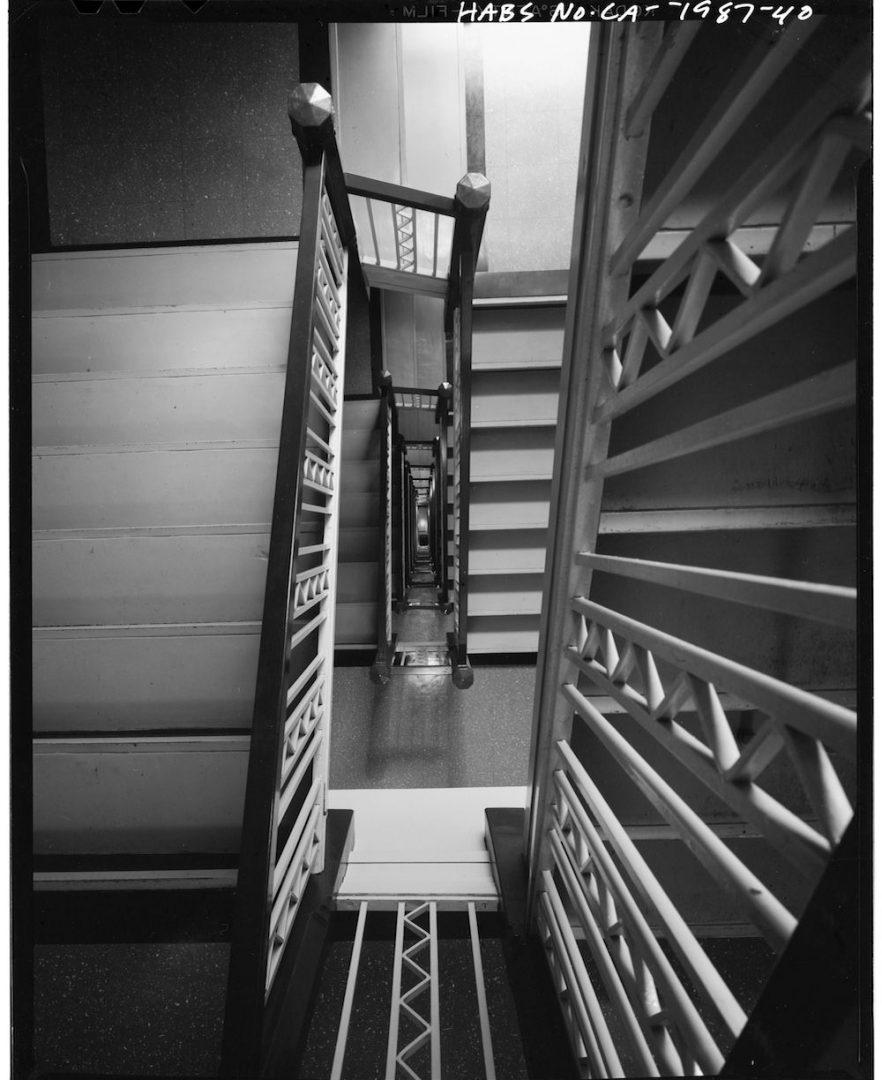 Richfield Oil Interior Stairwell