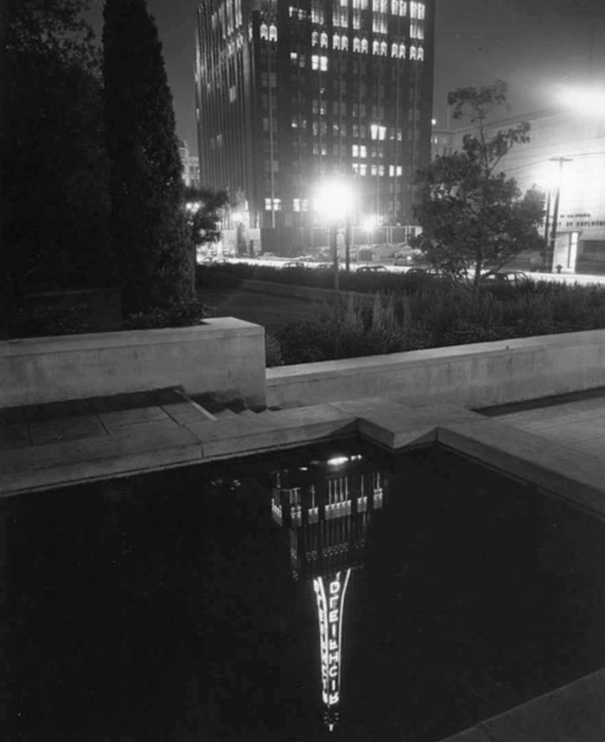 Richfield Oil Night Reflection