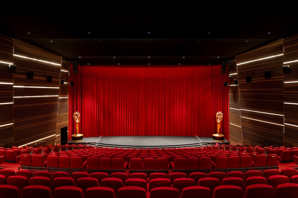 Emmy Theater by Los Angeles Architectural Photographer Hunter Kerhart