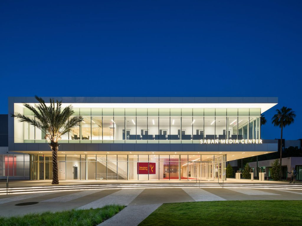 Saban Media Center by Los Angeles Architectural Photographer Hunter Kerhart