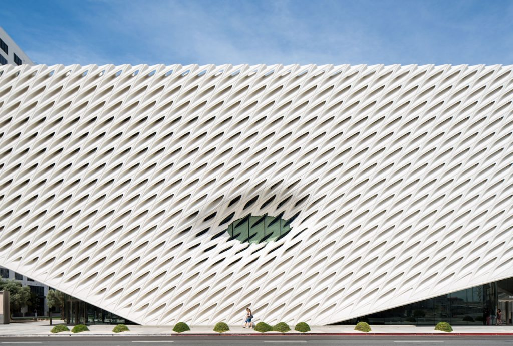 The Broad by Los Angeles Architectural Photographer Hunter Kerhart