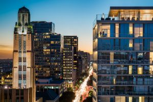 3033 Wilshire by Los Angeles Architectural Photographer Hunter Kerhart
