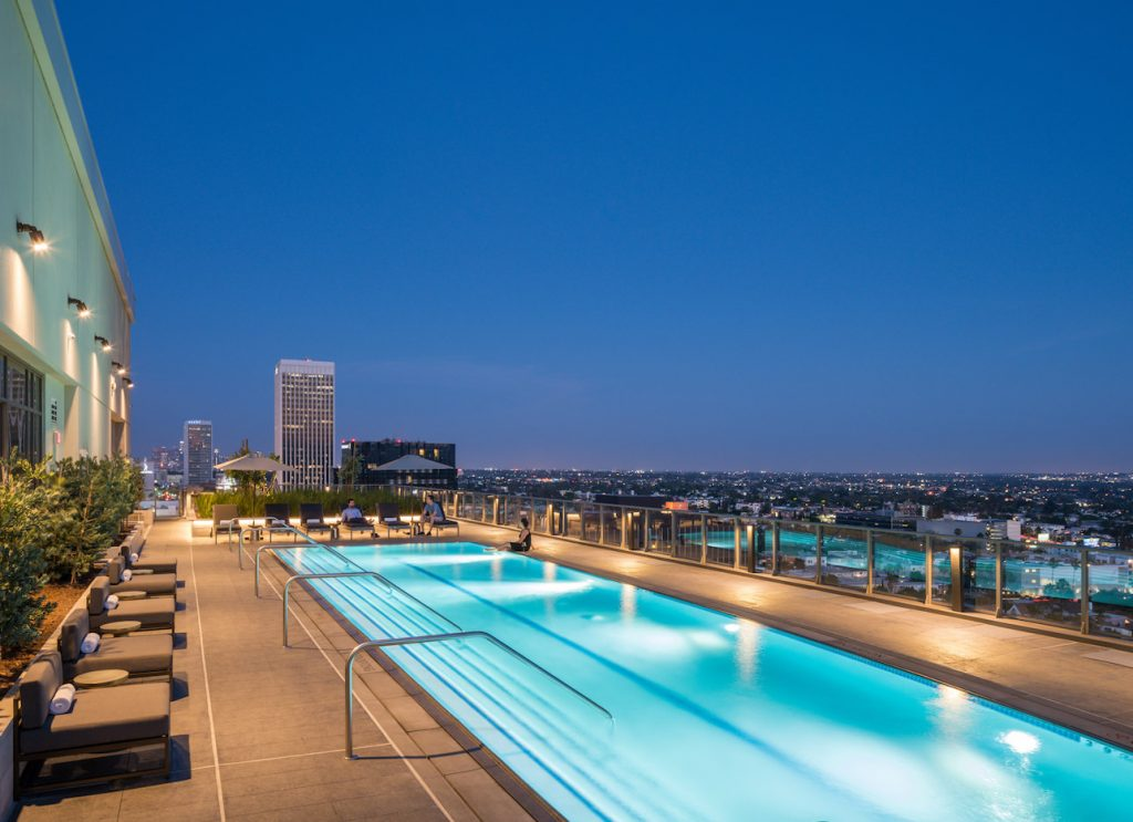 Vision on Wilshire by Los Angeles Architectural Photographer Hunter Kerhart